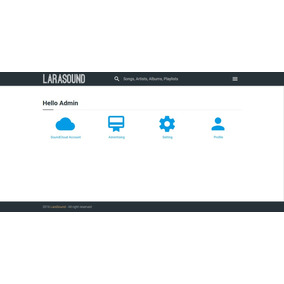 Larasound - Autopilot Music Search Engine