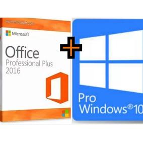 Windows 10 Pro + Office 2016 Pro Plus Licença Nota Fiscal