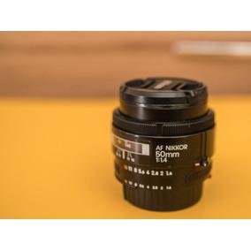 Lente Nikon Nikkor 50mm 1.4 D