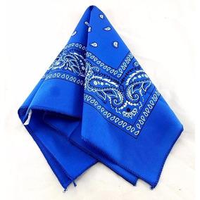 a90a59fd8 Lenços e Pashminas Bandanas para Feminino Azul no Mercado Livre Brasil