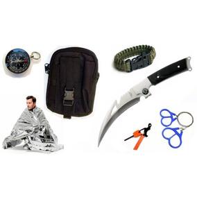 Kit Supervivencia M6624 C Pouch , 7 Acesorios Envio Gratis