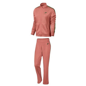 Conjunto Nike Trk Suit Pk 830345-685 Rosa-olivo Dama