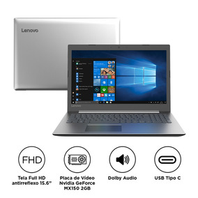 Lenovo Ideapad 330 I7-8550u 8gb 1tb Mx150 Windows 81fe0000br