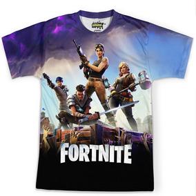 Camiseta Masculina Jogo Fortnite Camisa Full Print Hd Md01