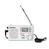 Radio Digital De 2 Bandas Am/fm Portatil Daewoo