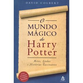 Livro O Mundo Mágico De Harry Potter David Colbert