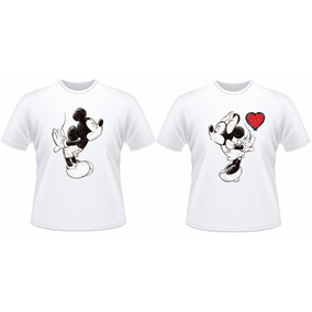 Camiseta Kit Mozão Mickey E Minnie