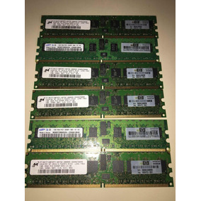 Memorias Ddr2 1 Gb Marca Hp