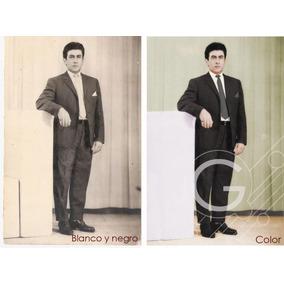 Digitalización Y Restauración Digital De Fotos Antiguas