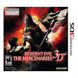 Resident Evil The Mercenaries Usado 3ds