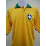 Camisa Seleção Brasileira Gola Polo no Mercado Livre Brasil ee19e6750325f