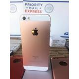 Iphone Se 64gb Gold 4g Lte 4k 12mp Libre + Combo Accesorios