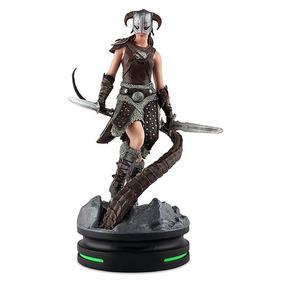 Skyrim Female Dragonborn Statue 28cm *pronta Entrega*