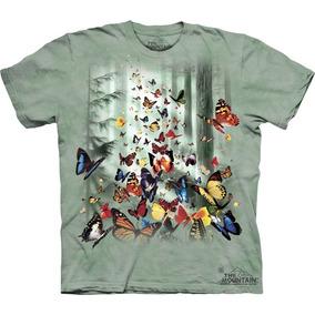 Playera 4d - Unisex Infantiles - 1625 Butterflies.