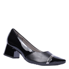 2c13843a9 Sapato Salto Baixo Grosso Feminino Piccadilly - Sapatos no Mercado ...