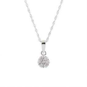 b14df449eaf4 Gargantilla Y Aretes De Oro 14k Con 21 Diamantes De .25 Q