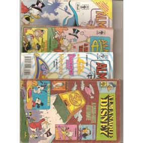 Lote 03 - 04 Almanaque Disney - Conforme Fotos