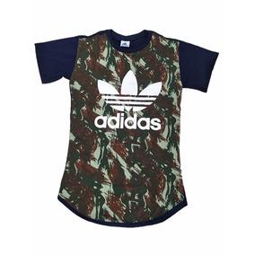 aa5b7ed040f59 Camiseta Camuflada Azul - Camisetas Manga Curta para Masculino em ...