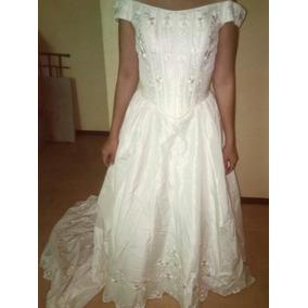 Vestidos de novia cortos color perla