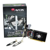 Placa De Video Afox Nvidia Gt730 2gb Ddr3 Low Profile Dvi