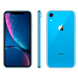 iPhone Xr Apple 256gb Azul 4g Tela 6,1 Retina-câmera 12mp