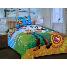 Set Infantil Cobertor + Sabanas + Cortina 1 1/2 Plaza
