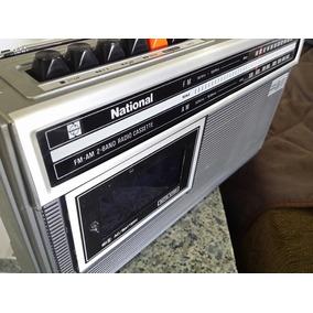 Rádio Gravador National Rq 445 A