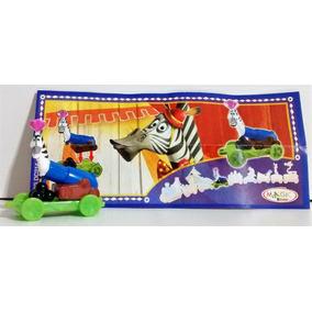 Kinder Madagascar3 **2 Muñecos+regalo* Caja,capsula,cartina