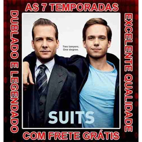 Dvds Serie Suits (1ª Até 7ª Temporada) Completa 15 Dvds