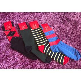 Calcetines Hombre Vestir Calcetas Carolina Herrera Nuevo