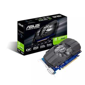 Placa De Vídeo Asus Geforce Gt 1030 2gb Gddr5 Oc Edition