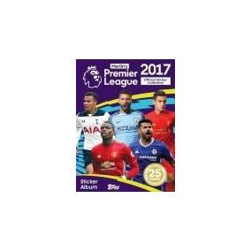 Kit Álbum Mais 80 Pctes Lacrados Premier League 17