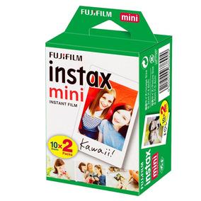 Filme Fujifilm Instax Mini Com 20 Fotos Coloridas