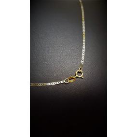 Correntinha De Ouro 18k 0.750 Piastrine 50cm