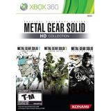 Juegos,colección Hd De Metal Gear Solid...