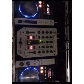 Kit Dj- Cdj200 Pioneer; Mixer Behringer Vmx200 E Case