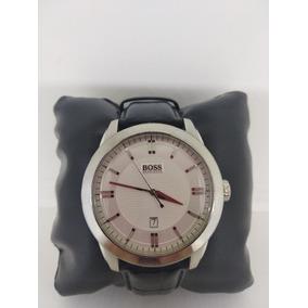 Reloj Hugo Boss Hb.176.1.14.2486 Negro Piel Acero Inoxidable