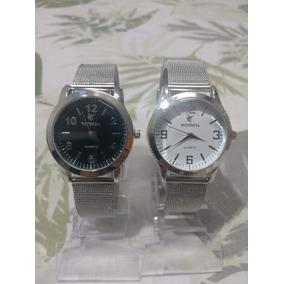 33d0c3229d1 Relogio Potenzia Apiu 30m Quartz Prata - Relógios De Pulso no ...