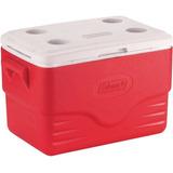 Caixa Térmica Cooler Coleman 36 Qt 34 L Grande Vermelho
