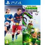 Fifa 16 + Plants Vs Zombie Garden Warfare Ps4 Digital Gcp