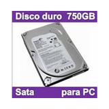 Disco Duro Interno 750gb Sata Se Envia A Todo El Pais