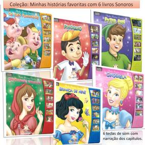 Coleção Livros Sonoros Contos Clássicos Narrados C/6 Volumes
