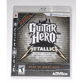 Guitar Hero Metallica Midia Fisica Original Completo Ps3 Cr