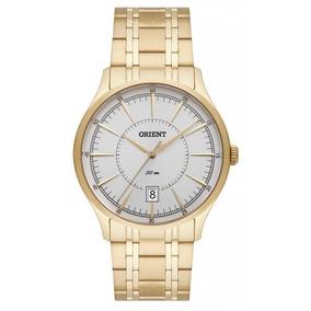 Relógio Orient Masculino Ref: Mgss1154 S1kx Social Dourado