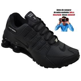 dc48b45ec88 Tenis Nike Shox Veludo Chinelos - Nike para Masculino Preto no ...