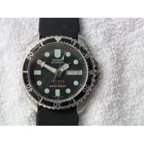 Reloj Citizen Diver 200m En Acero Automatico