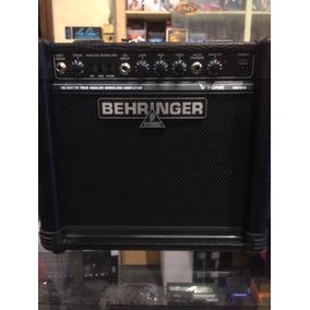 Amplificador Guitarra Modelacion Analoga Behringer Gm108