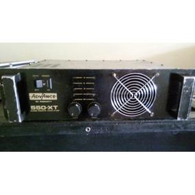 Amplificador De Potência Advance 550-xt