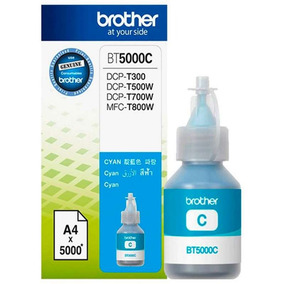 Tinta Brother Bt5001c Cyan 5000 Páginas Dcpt300 Dcpt50nnet
