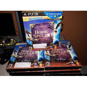 Combo Wonderbook Book Of Spells - Psmove Ps3